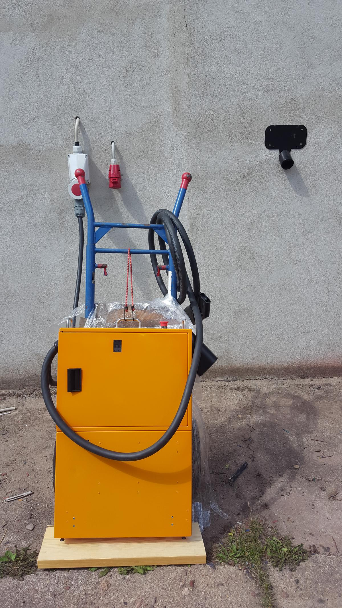 40kW Mobile Schnelladestation LadeEngel Go40  CCS CHAdeMO DC Fast Charger